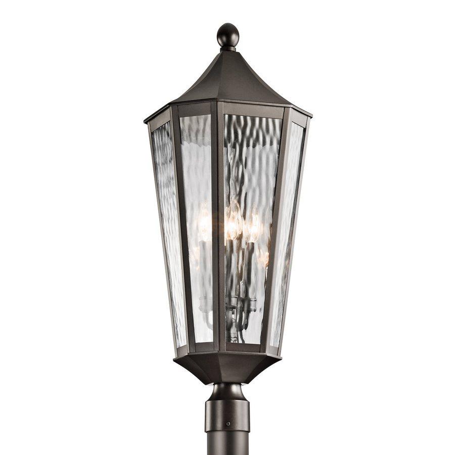 Kichler Rochdale 30.25-in H Olde Bronze Post Light