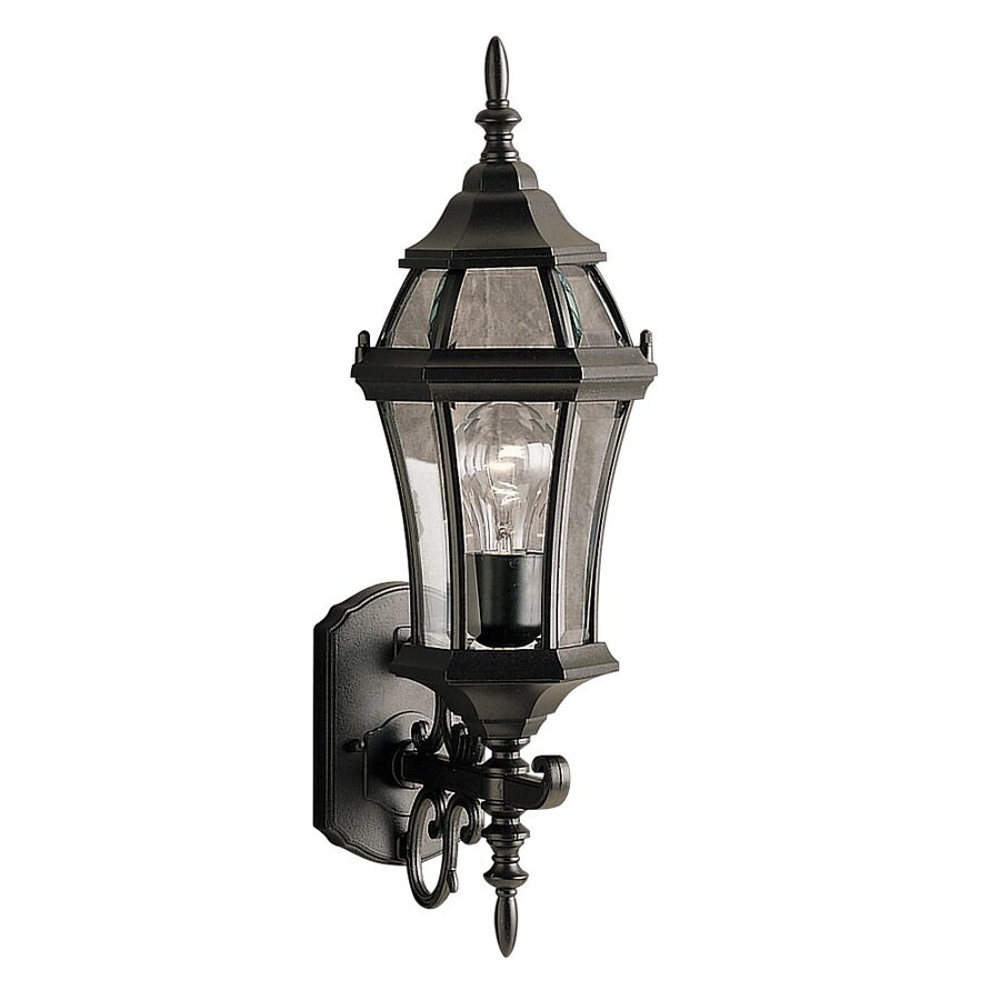 Kichler Lighting Townhouse 21.5-in H Black Outdoor Wall Light