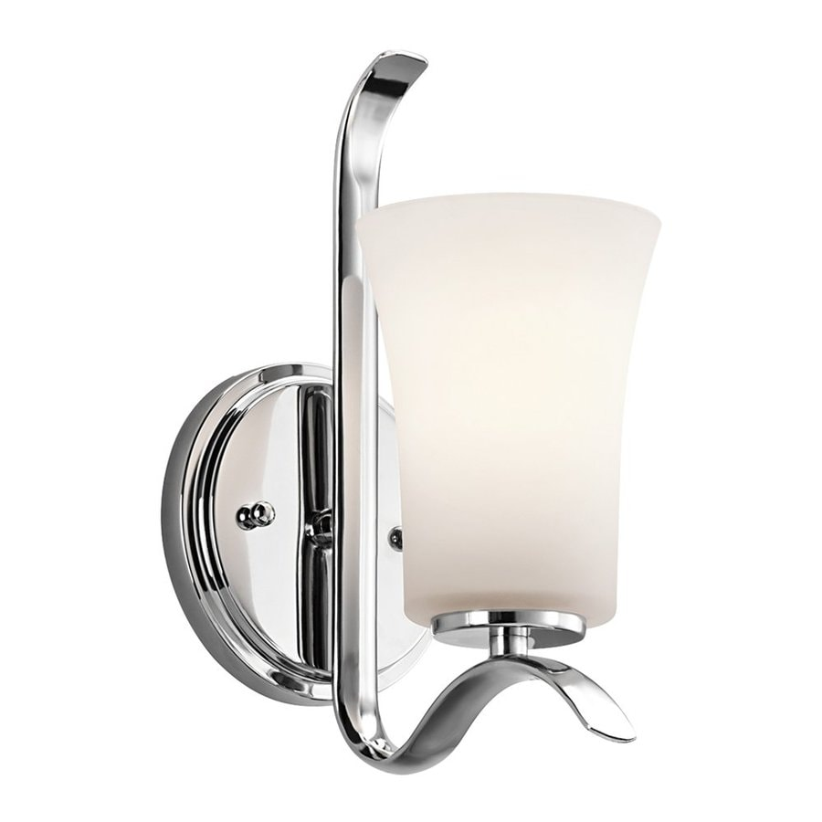 Kichler Lighting Armida 1-Light 10.75-in Chrome Bell Vanity Light