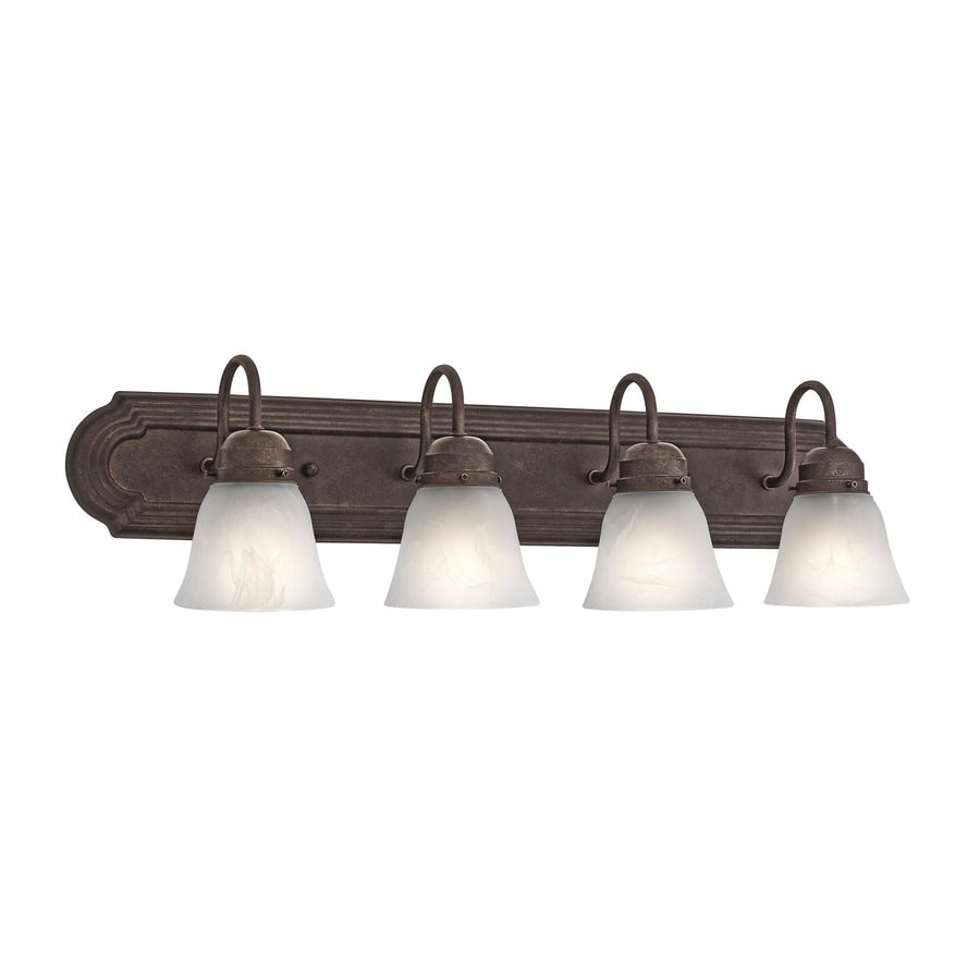 Kichler Lighting New Street 4-Light Tannery Bronze Bell Vanity Light