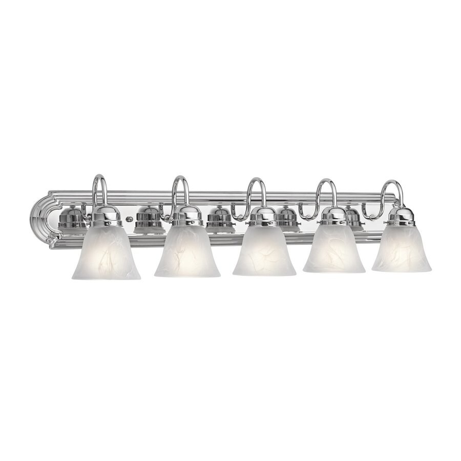Kichler Lighting New Street 5-Light Chrome Bell Vanity Light