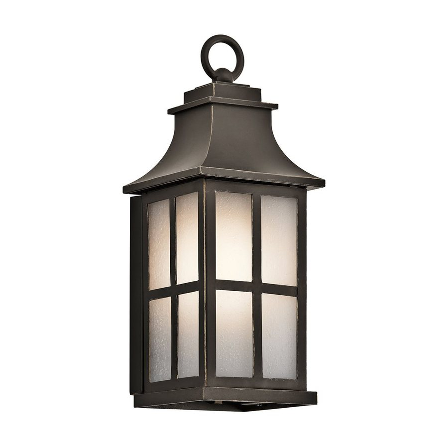 Kichler Lighting Pallerton Way 14.25-in H Olde Bronze Outdoor Wall Light