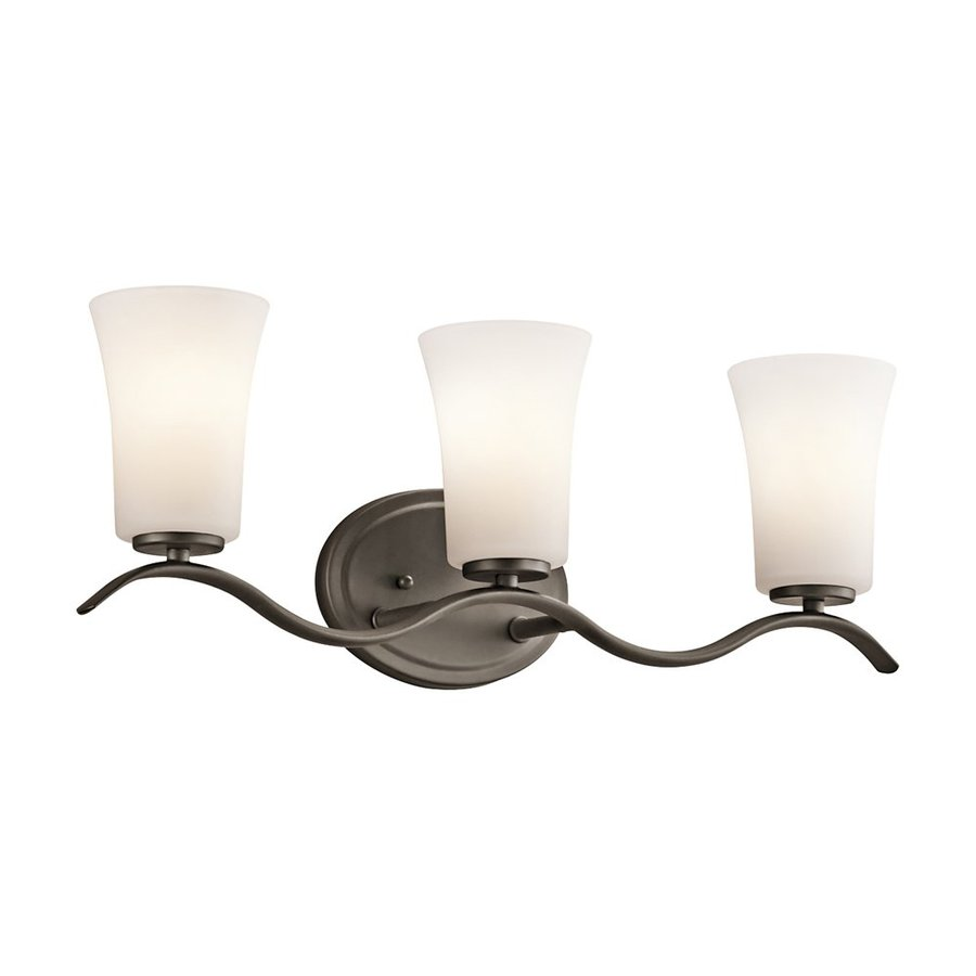 Kichler Armida 3-Light 8.5-in Olde bronze Bell Vanity Light
