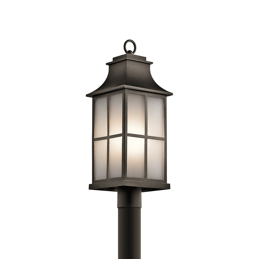 Kichler Pallerton Way 23-in H Olde Bronze Post Light