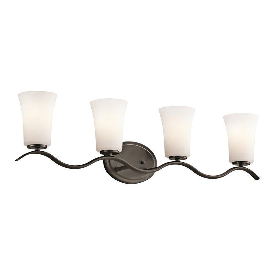 Kichler Lighting Armida 4-Light 9-in Olde Bronze Bell Vanity Light