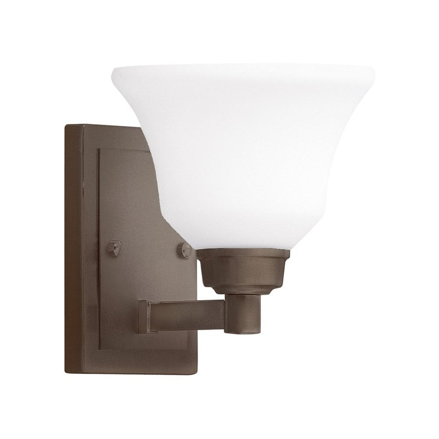 Kichler Langford 1-Light 7.75-in Olde bronze Bell Vanity Light