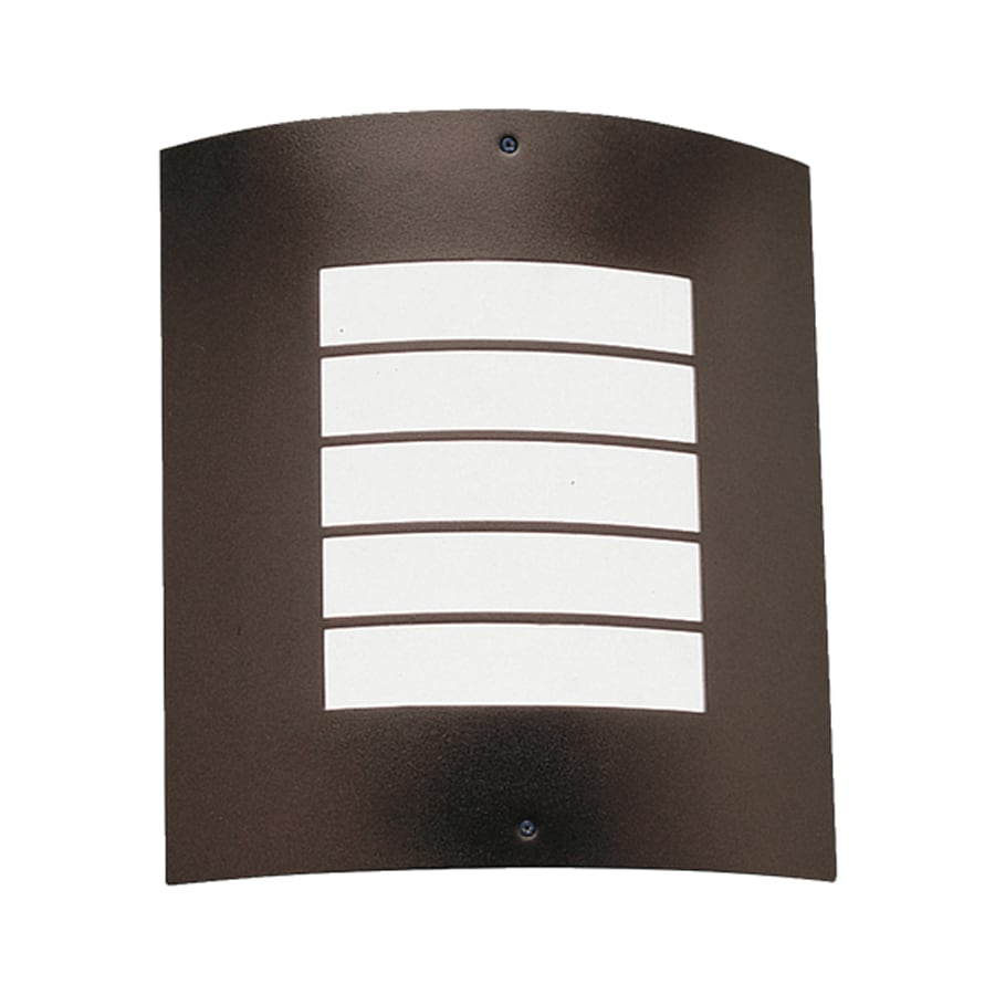 Kichler Newport 10.25-in H Architectural Bronze Outdoor Wall Light