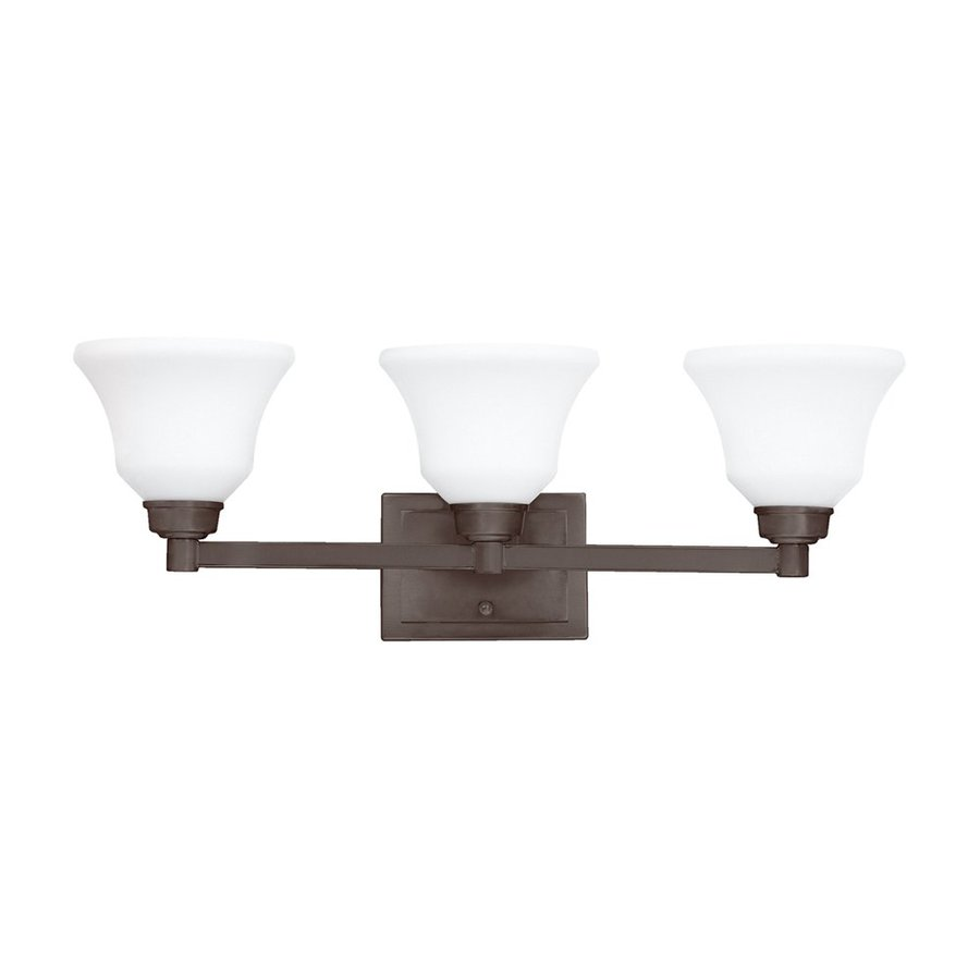 Kichler Lighting Langford 3-Light Olde Bronze Bell Vanity Light