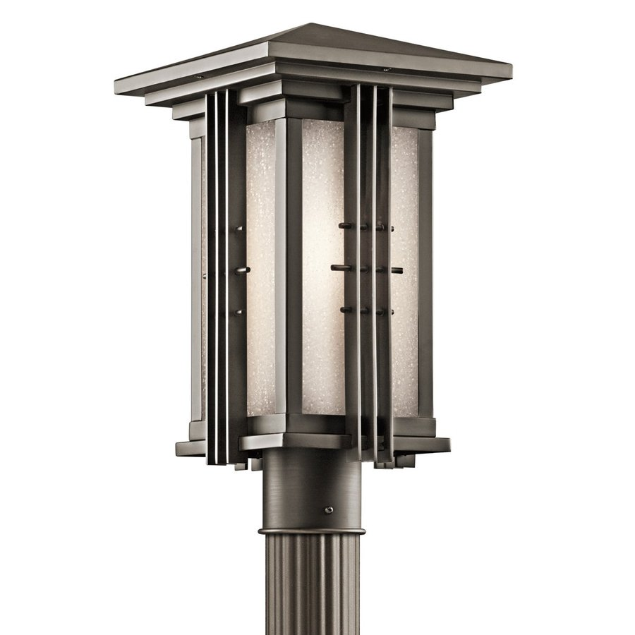 Kichler Lighting Portman Square 16.25-in H Olde Bronze Post Light