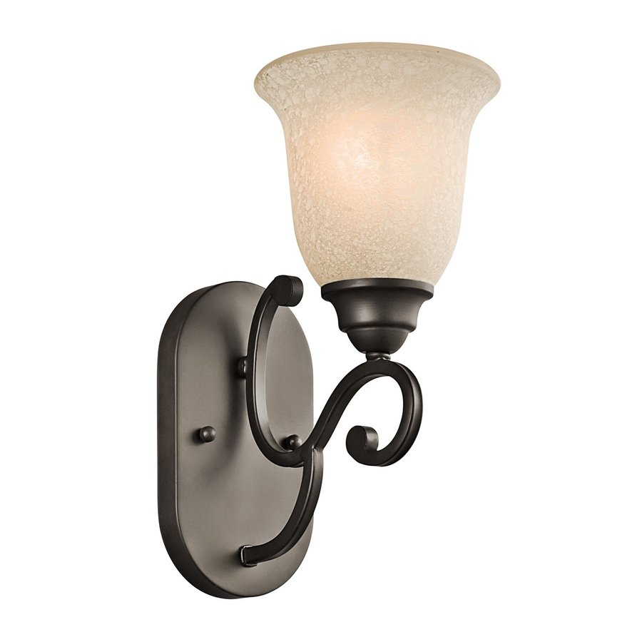 Kichler Camerena 1-Light 12.5-in Olde Bronze Bell Vanity Light