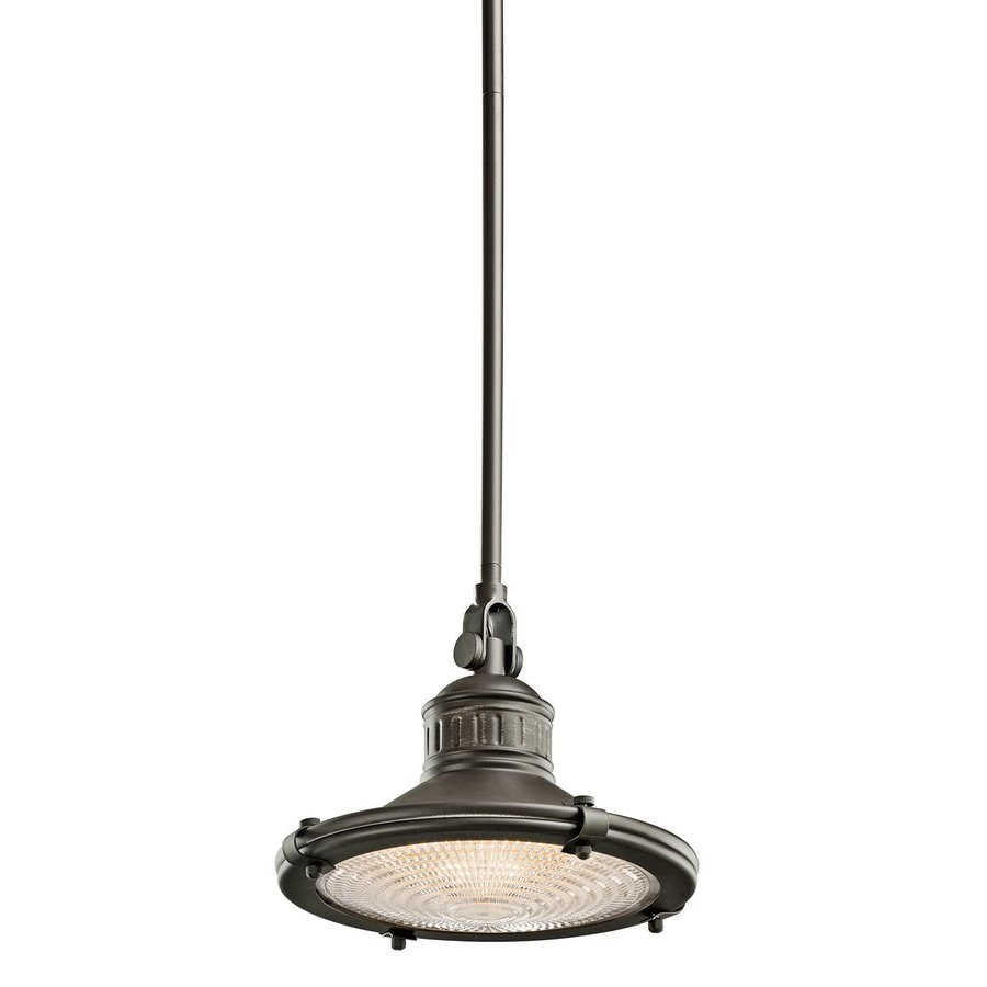 Pendant Lighting Not Hardwired : Kichler sayre in olde bronze industrial hardwired