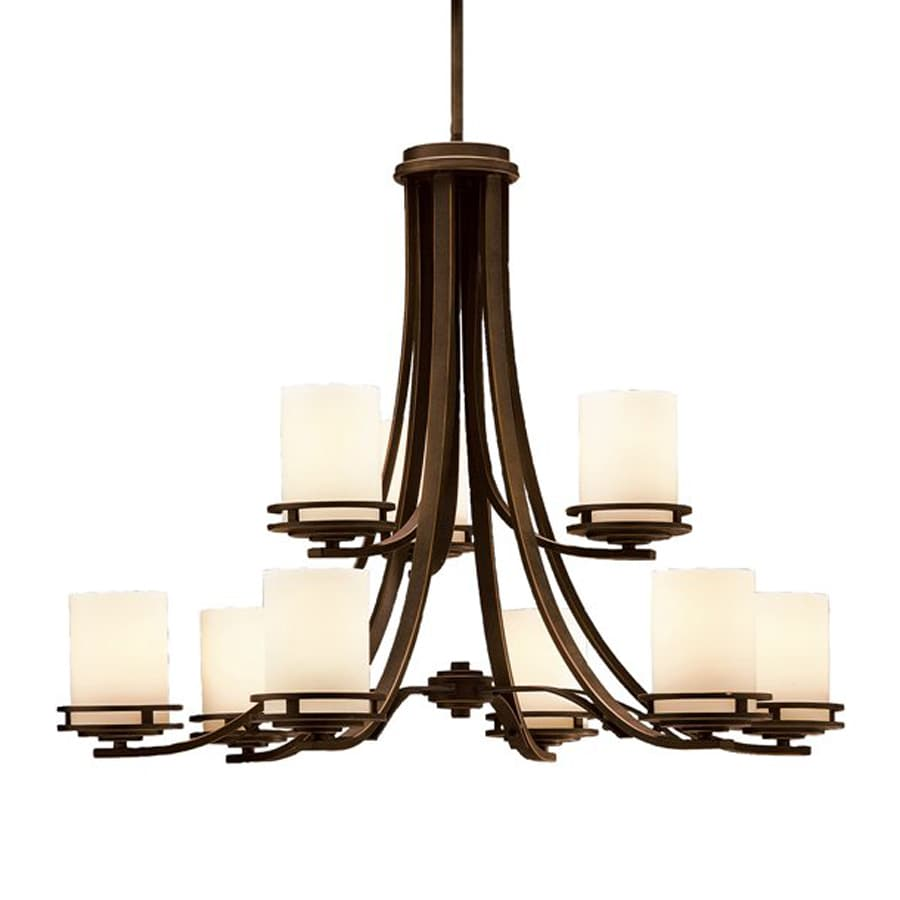 Kitchler: Shop Kichler Hendrik 9-Light Olde Bronze Transitional