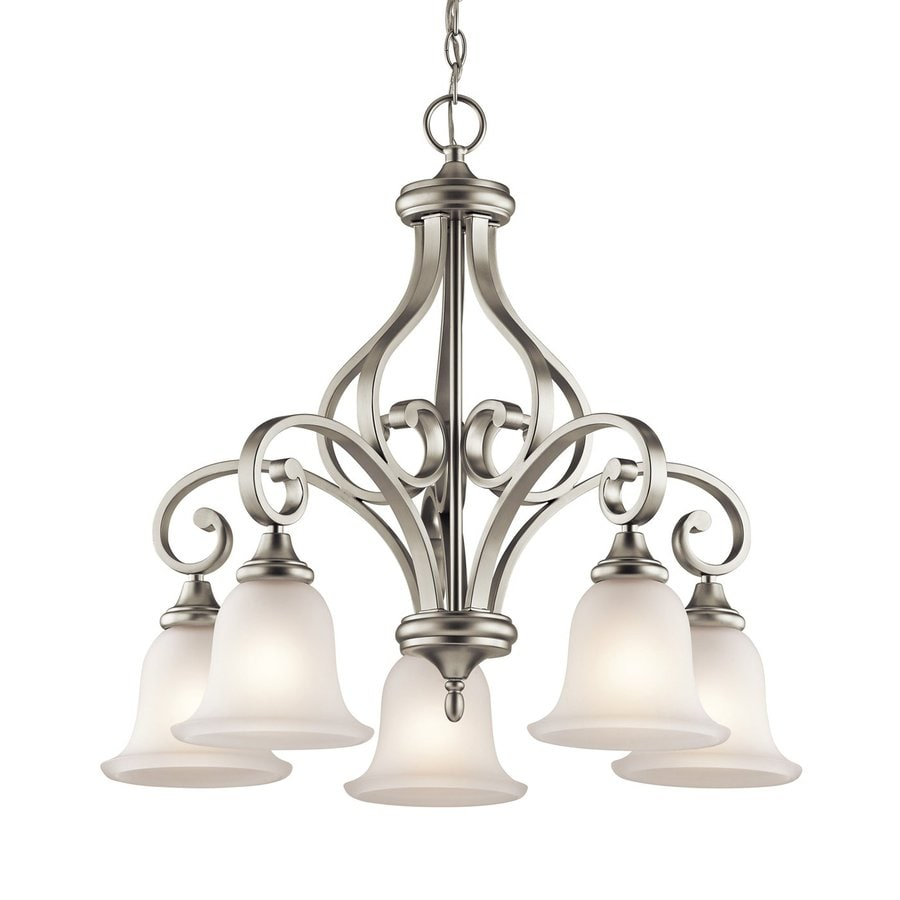 Shop Kichler Monroe 5 Light Brushed Nickel Transitional