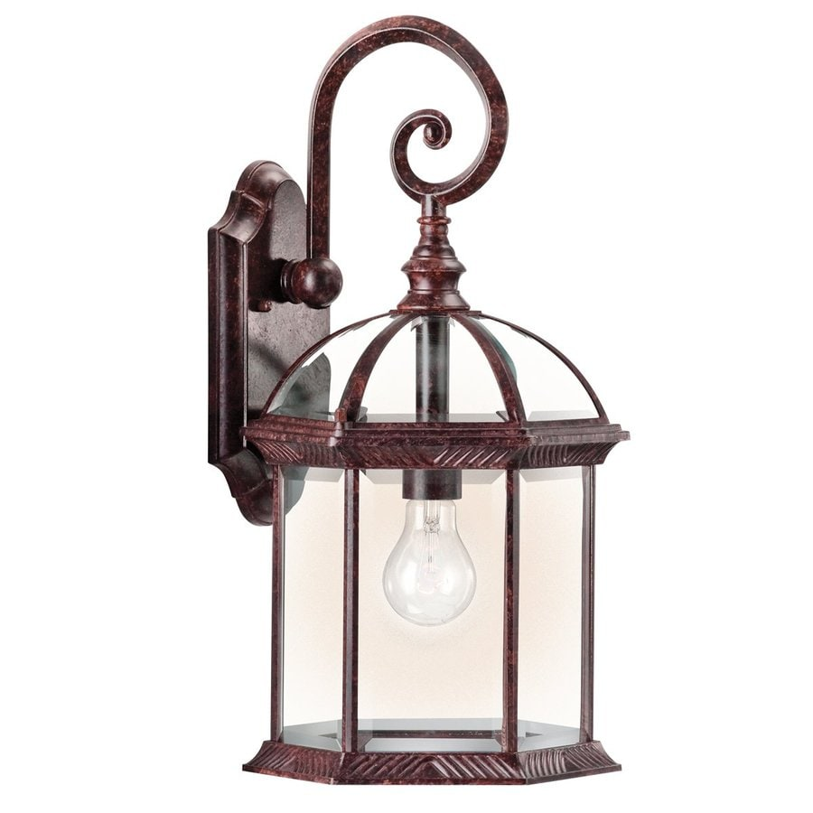 Kichler Lighting Barrie 19-in H Tannery Bronze Outdoor Wall Light