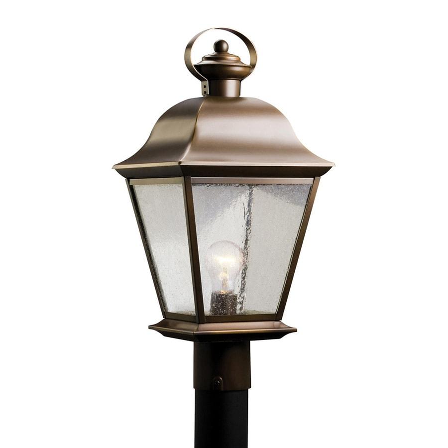 Kichler Mount Vernon 20.75-in H Olde Bronze Post Light