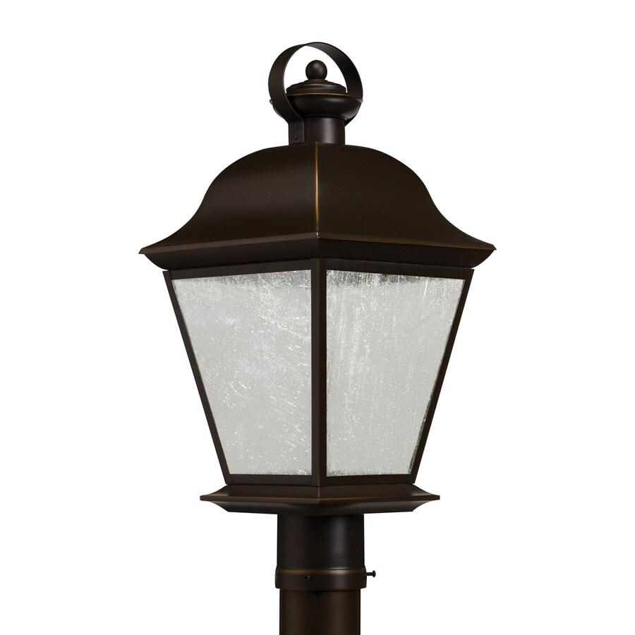 Kichler Lighting Mount Vernon 20.75-in H Olde Bronze LED Post Light