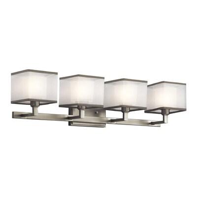 Lowes Bathroom Light Fixtures Brushed Nickel