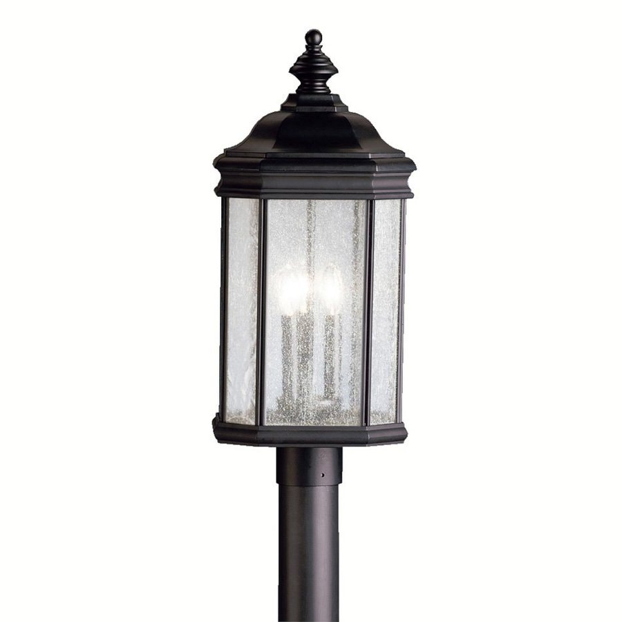Kichler Lighting Kirkwood 23.5-in H Black Post Light