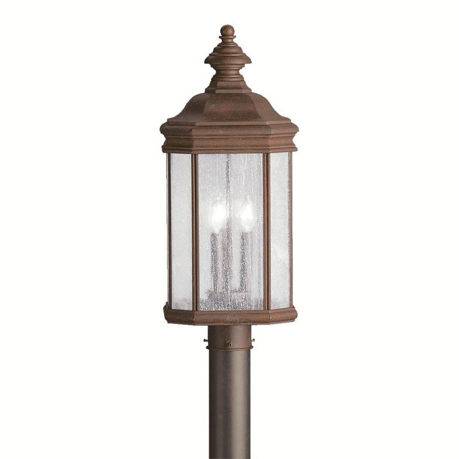 Kichler Kirkwood 23.5-in H Tannery Bronze Post Light