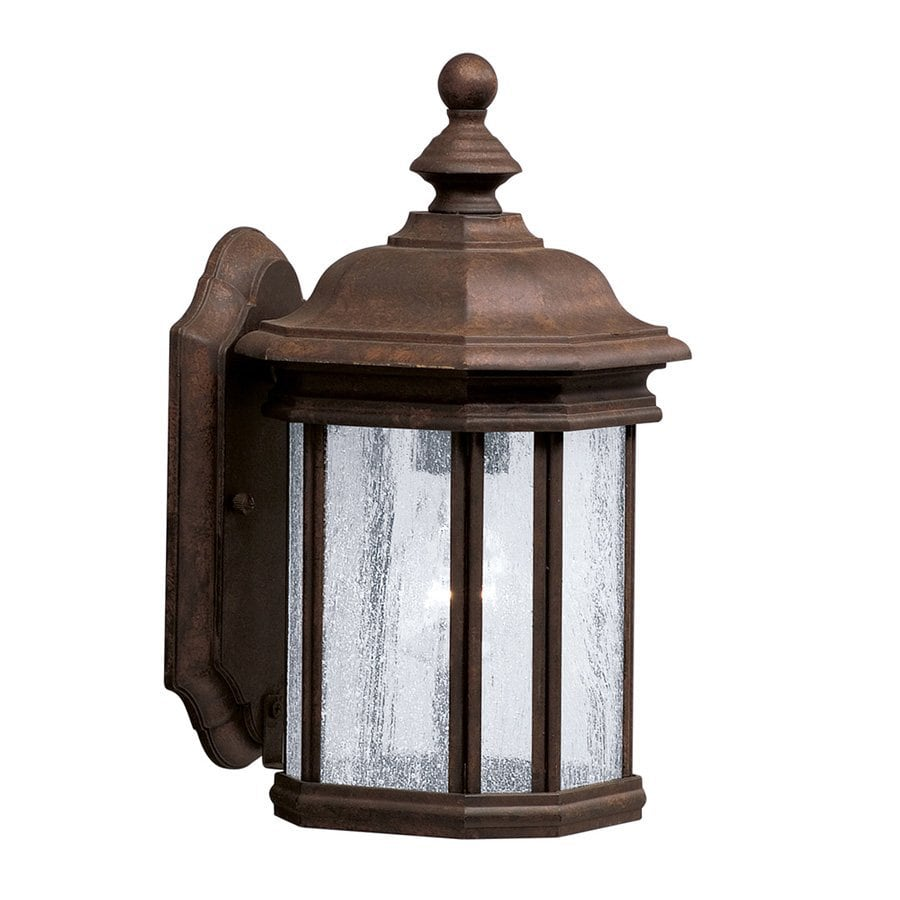 Kichler Kirkwood 13-in H Tannery Bronze Outdoor Wall Light