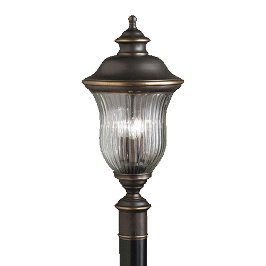 Kichler Sausalito 24.5-in H Olde Bronze Post Light