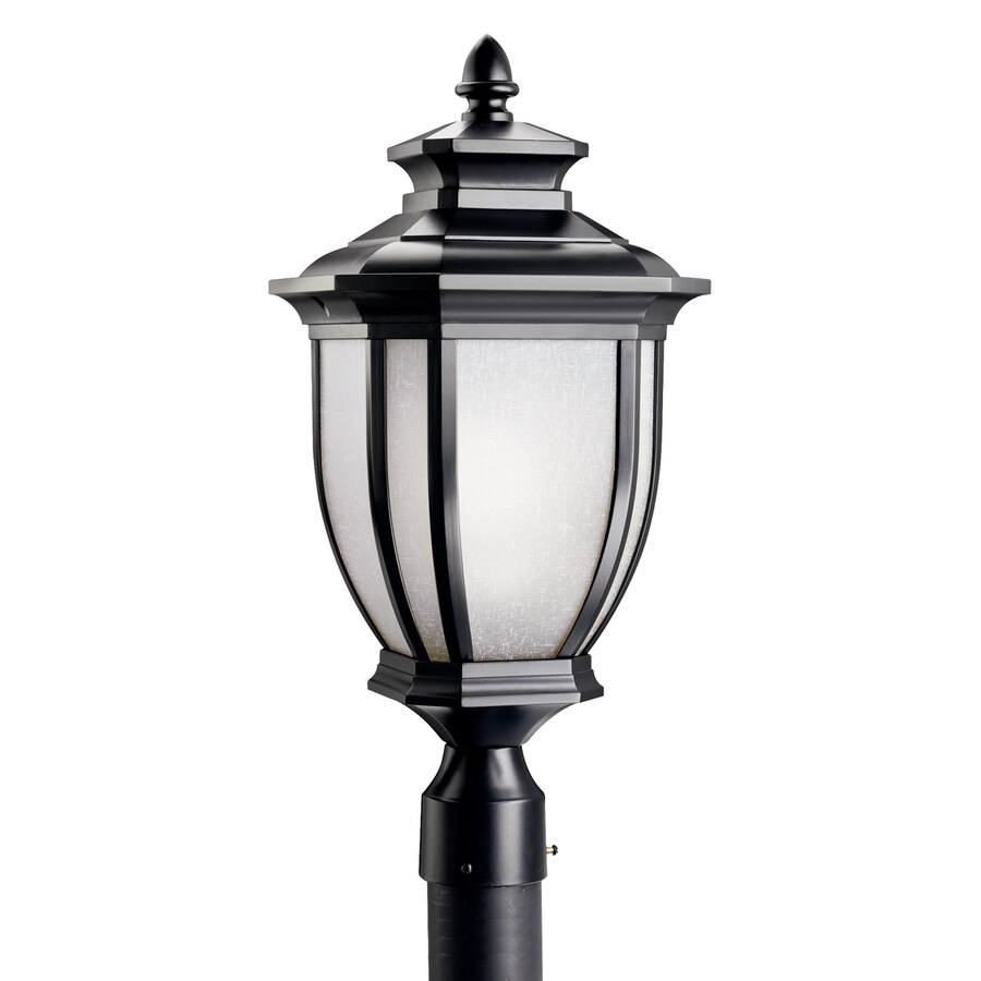 Kichler Lighting Salisbury 21.75-in H Black Post Light
