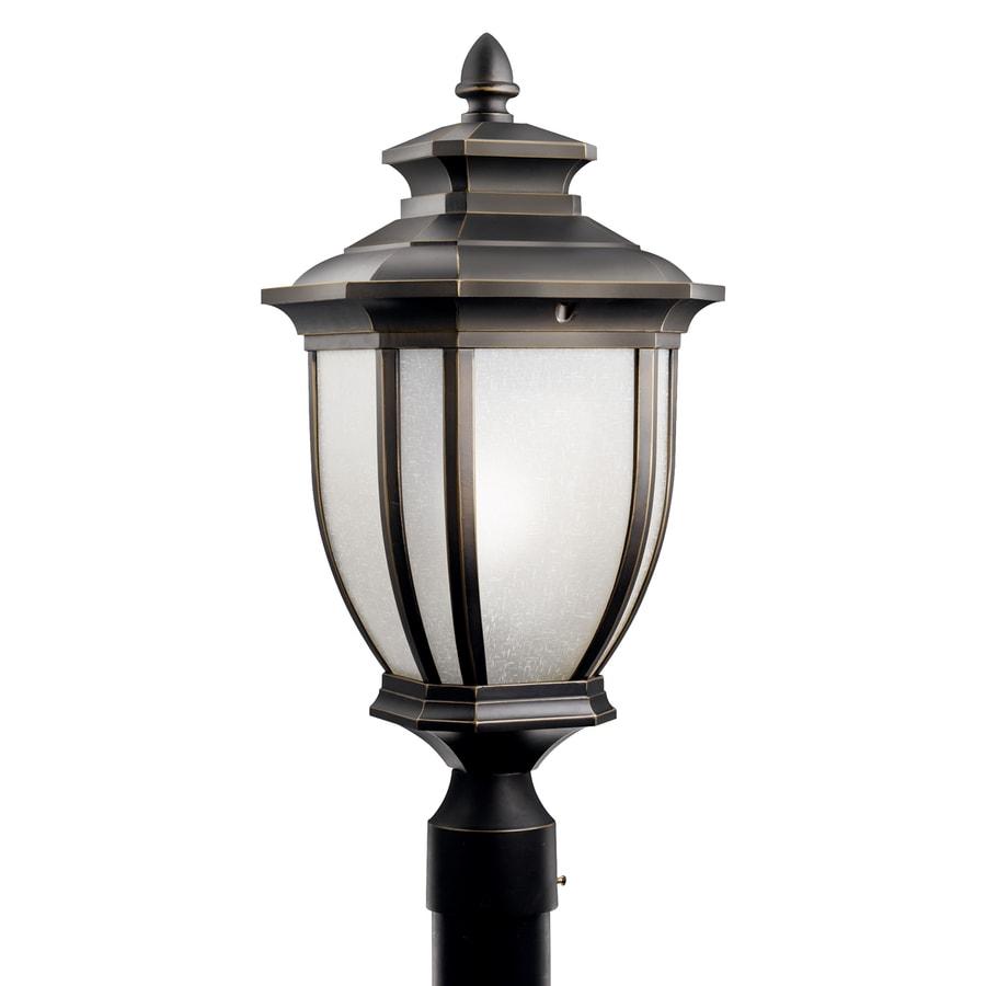 Kichler Salisbury 22-in H Rubbed Bronze Post Light
