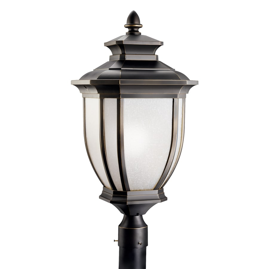 Kichler Lighting Salisbury 25.5-in H Black Post Light