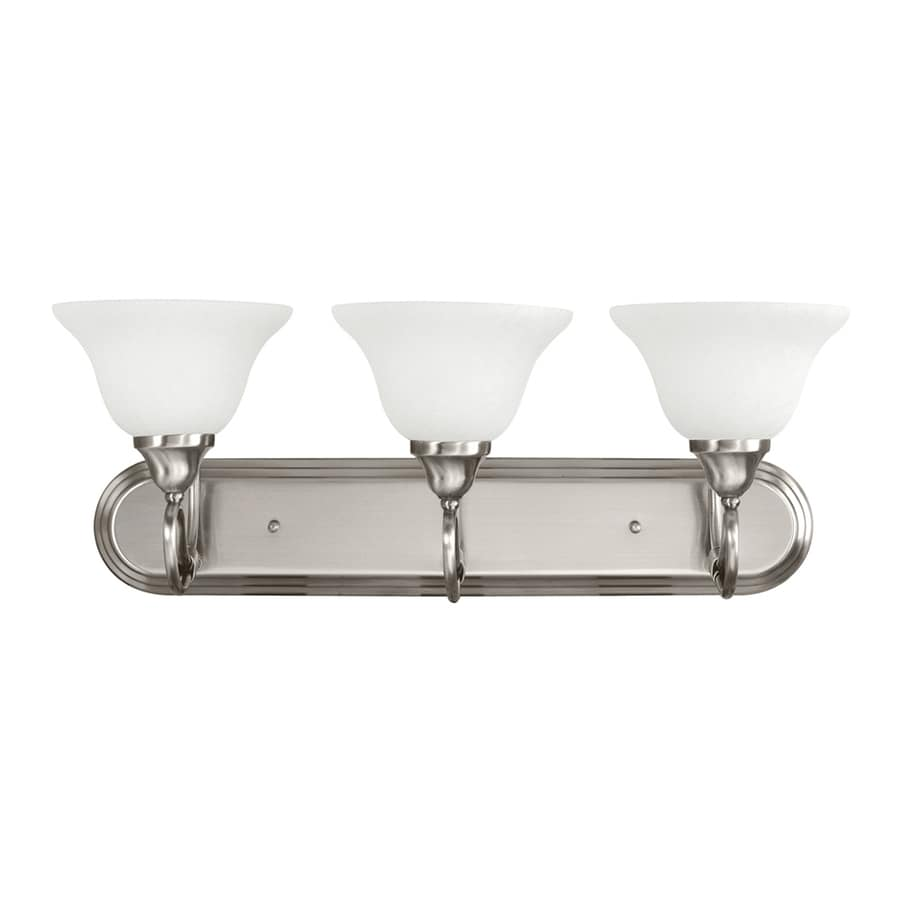 Kichler Lighting Stafford 3-Light 9.25-in Antique Pewter Bell Vanity Light