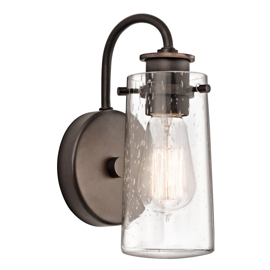 Kitchler: Shop Kichler Lighting 1-Light Braelyn Olde Bronze