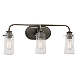 Shop Vanity Lights At Lowescom - Oil rubbed bronze bathroom light bars