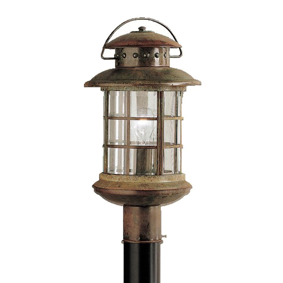 Kichler Rustic 18.5-in H Rustic Post Light