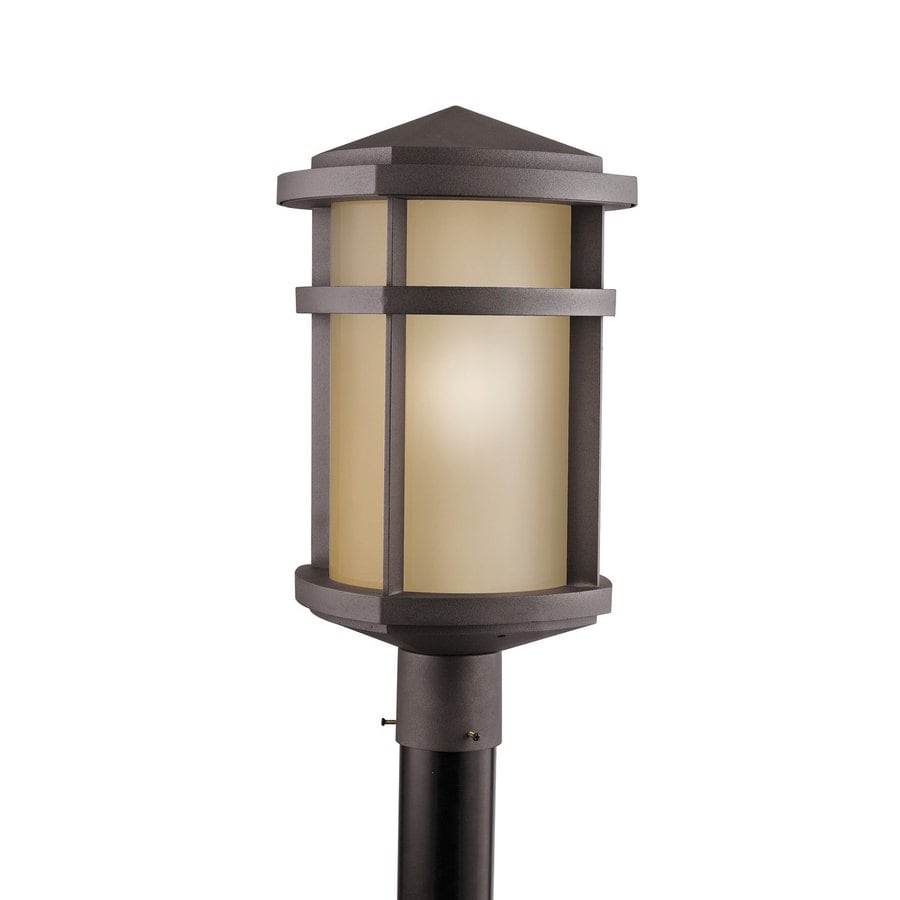 Kichler Lighting Lantana 19.5-in H Architectural Bronze Post Light