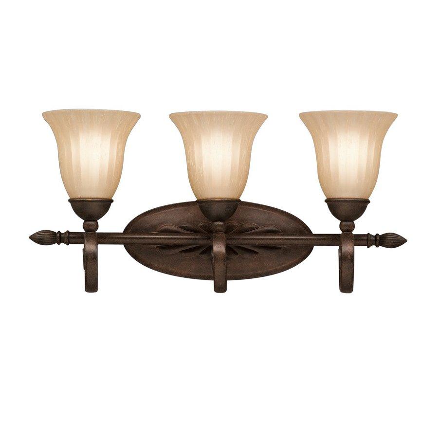 Kichler Lighting Willowmore 3-Light 11-in Tannery Bronze Bell Vanity Light