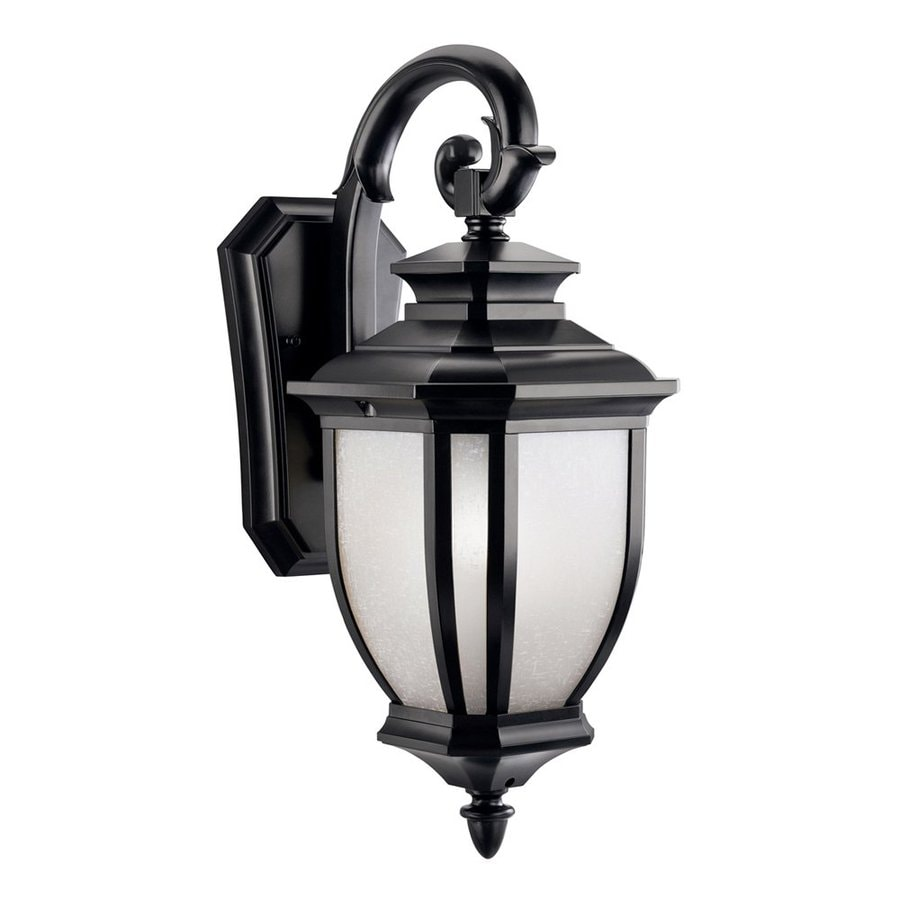 Kichler Salisbury 19.25-in H Black Outdoor Wall Light