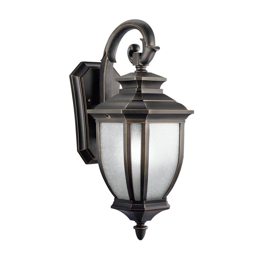 Kichler Lighting Salisbury 19.25-in H Rubbed Bronze Outdoor Wall Light