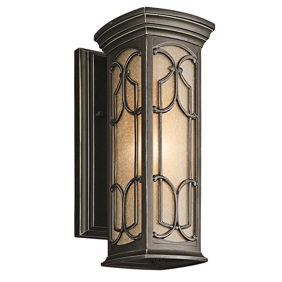 Kichler Lighting Franceasi 14.5-in H Olde Bronze Outdoor Wall Light