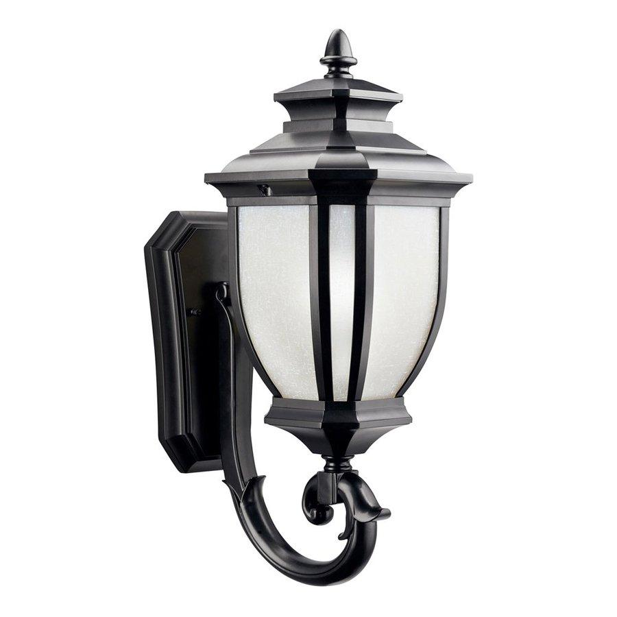 Kichler Salisbury 19.25-in H Black Outdoor Wall Light