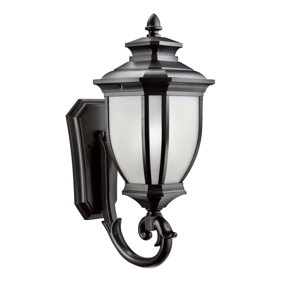 Kichler Lighting Salisbury 24.25-in H Black Outdoor Wall Light