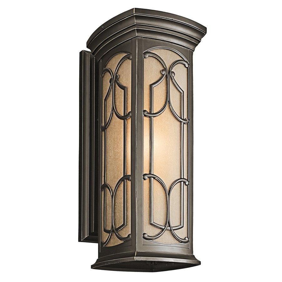 Kichler Lighting Franceasi 22-in H Olde Bronze Outdoor Wall Light