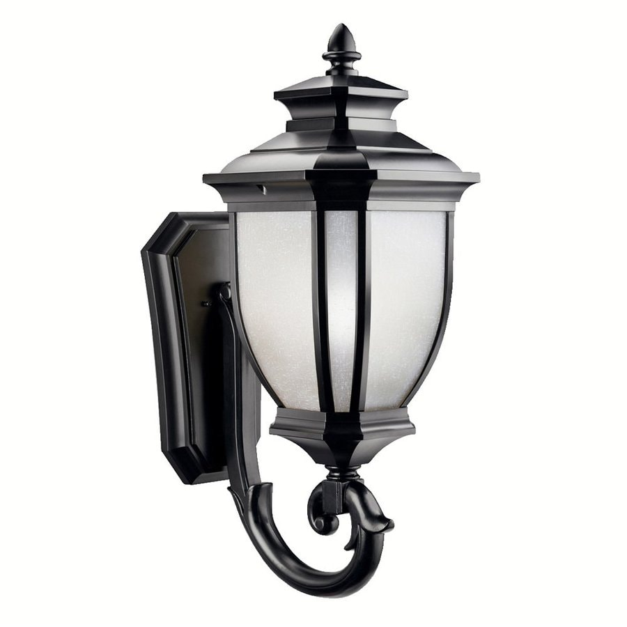 Kichler Salisbury 29-in H Black Outdoor Wall Light