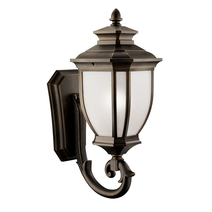 Kichler Lighting Salisbury 29.25-in H Rubbed Bronze Outdoor Wall Light