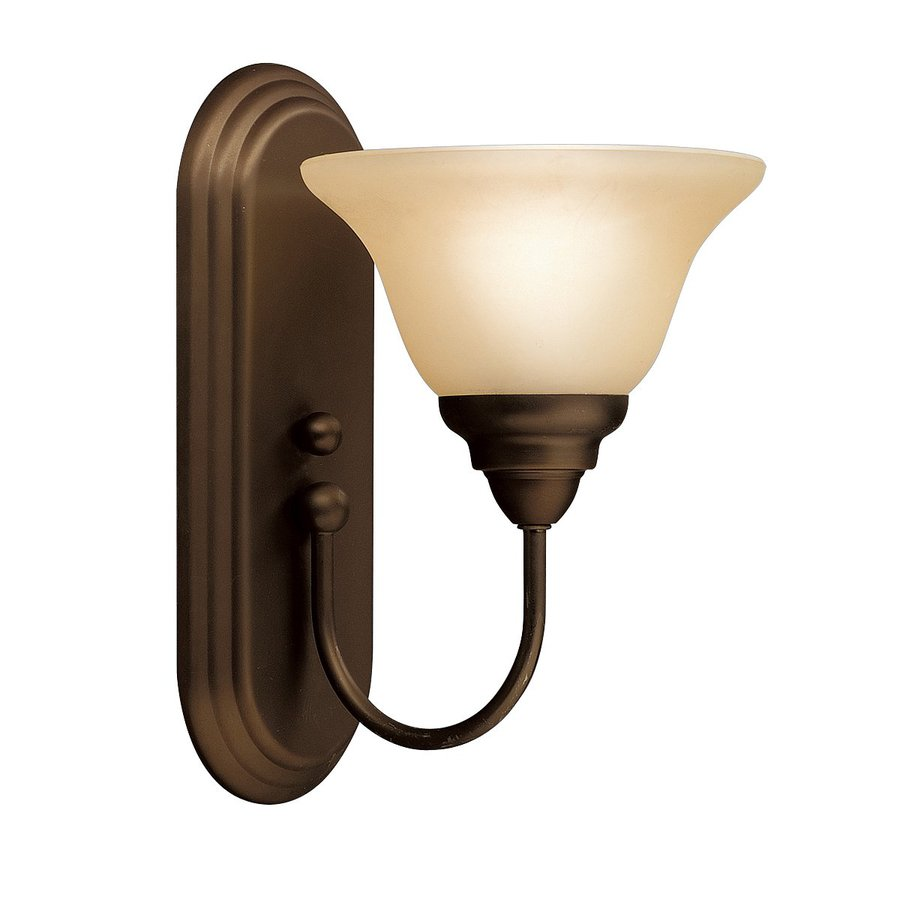 Kichler Telford 1-Light 12-in Olde Bronze Bell Vanity Light