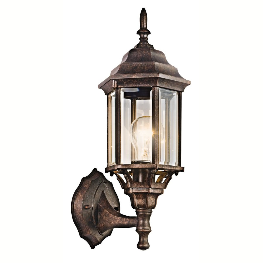 Kichler Lighting Chesapeake 17-in H Tannery Bronze Outdoor Wall Light
