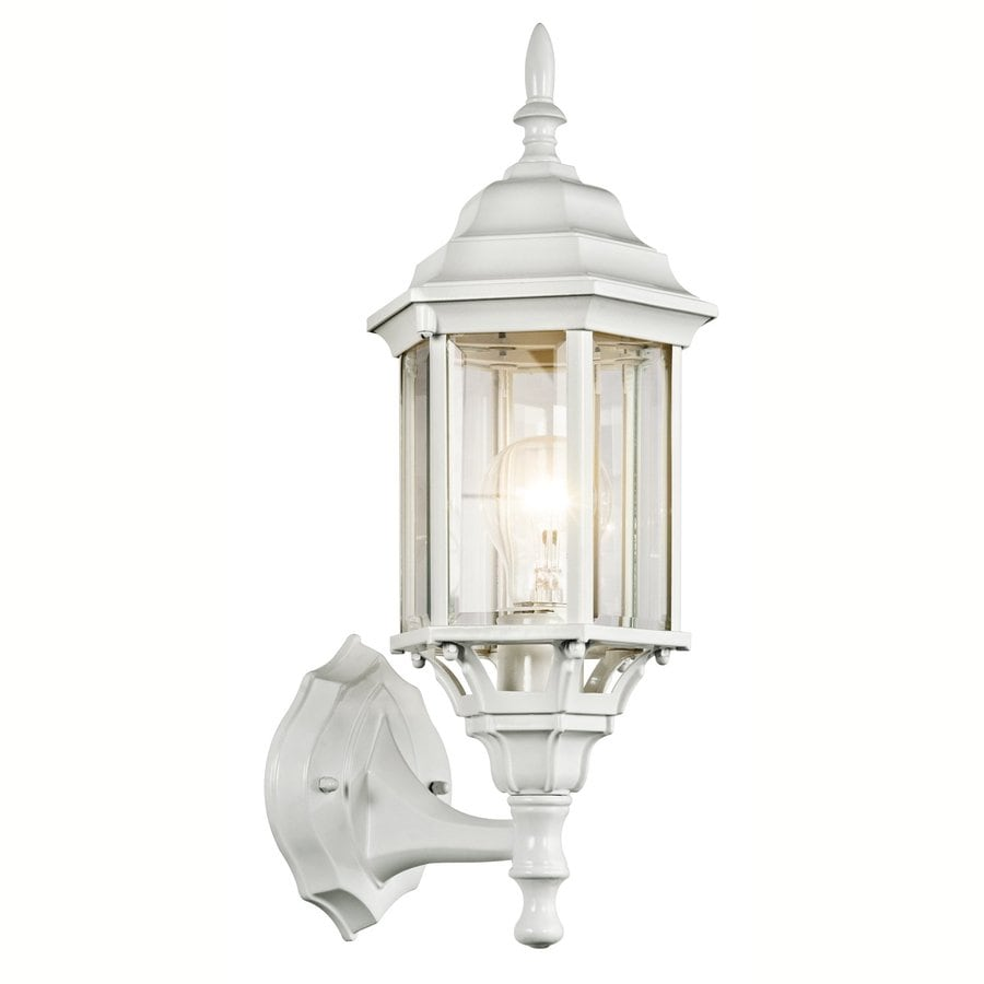 Kichler Chesapeake 17-in H White Outdoor Wall Light