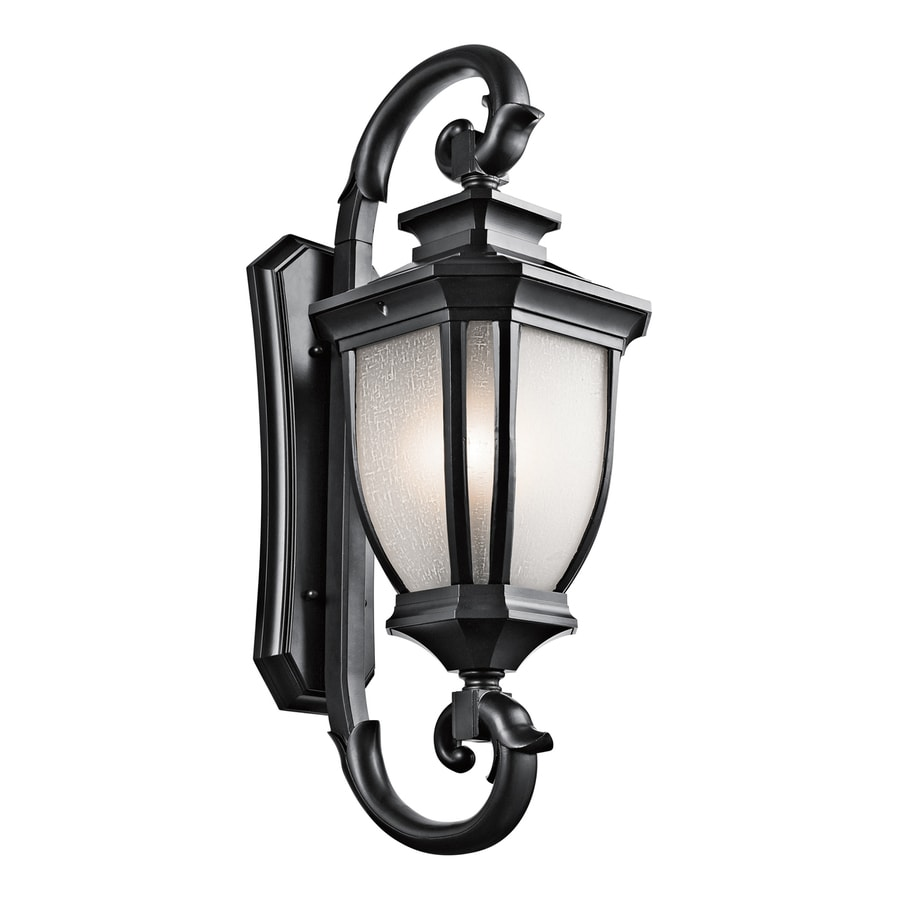 Kichler Salisbury 42-in H Black Outdoor Wall Light
