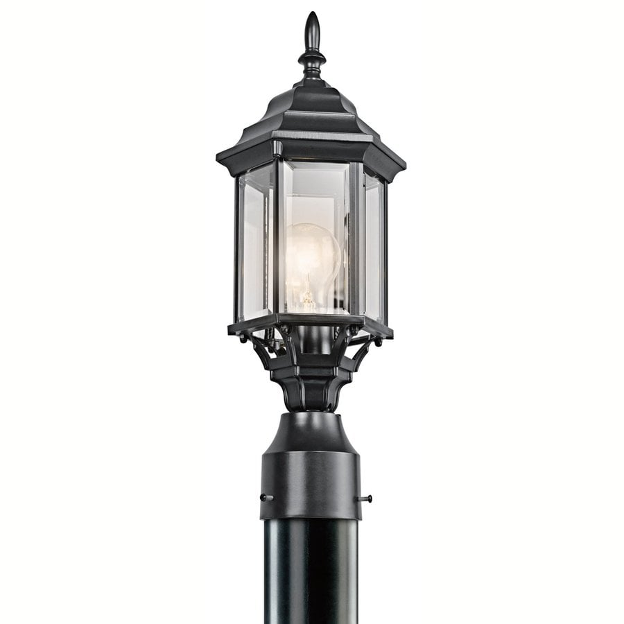 Kichler Lighting Chesapeake 18-in H Black Post Light