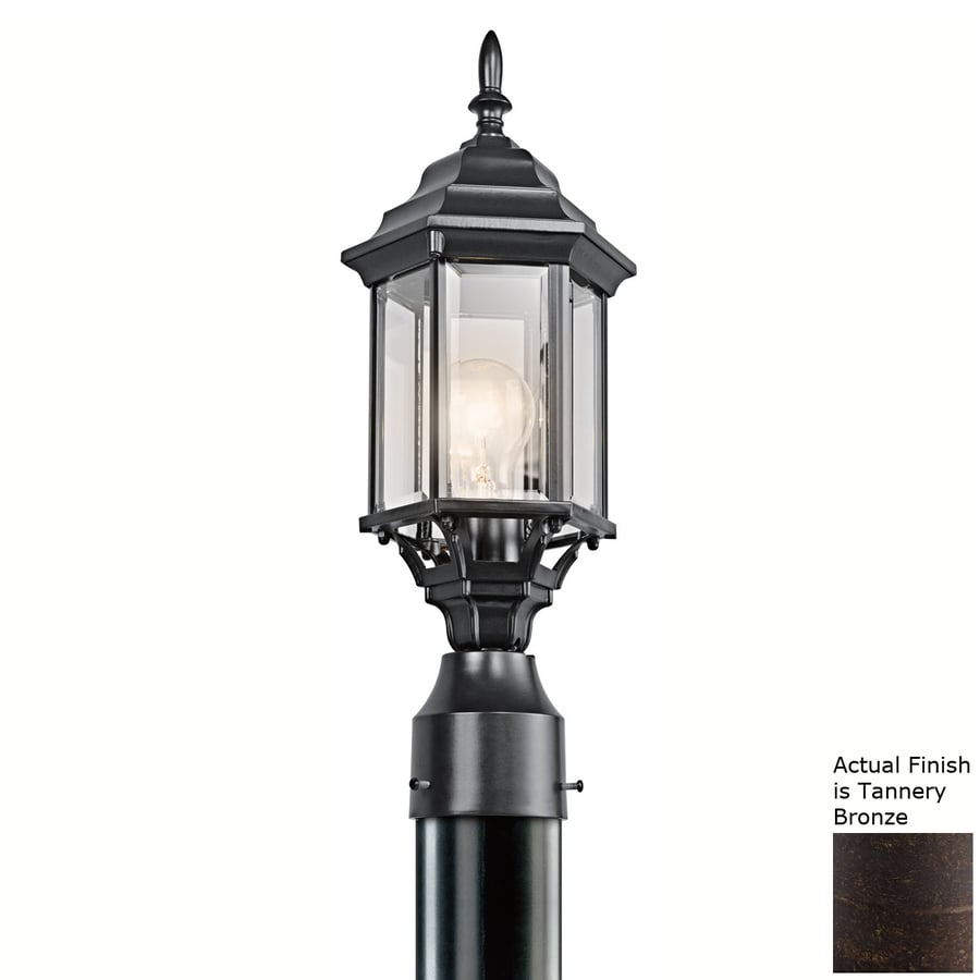 Kichler Lighting Chesapeake 18-in H Tannery Bronze Post Light