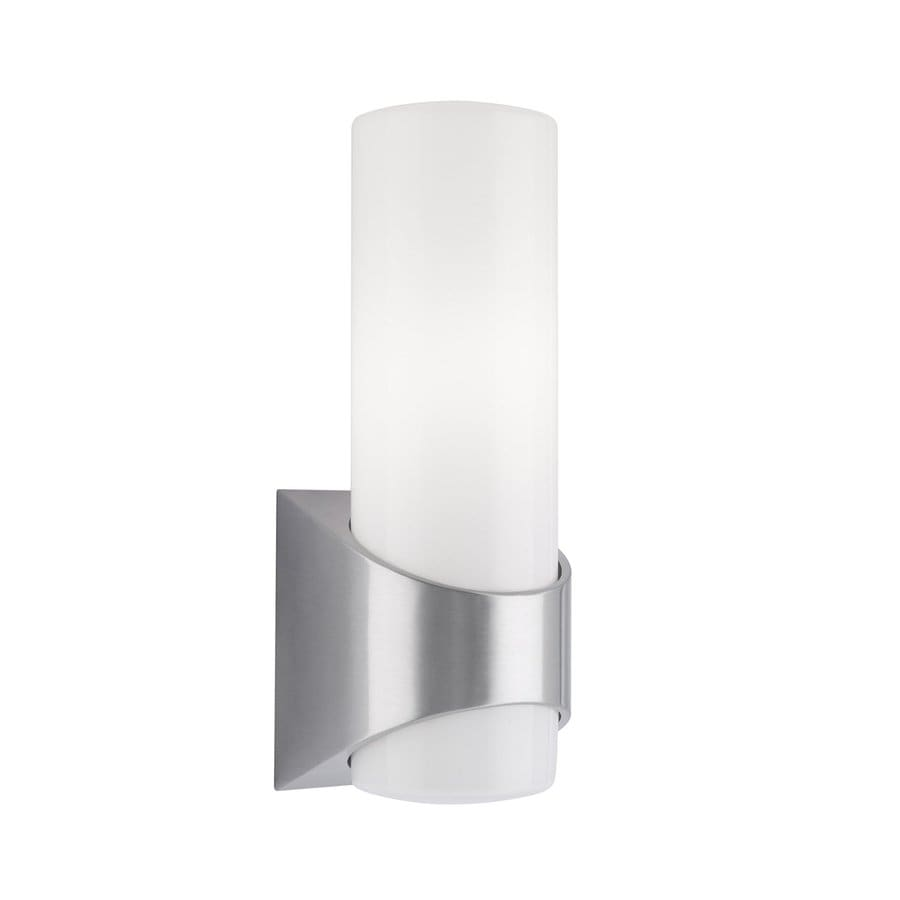 Kichler Celino 13.25-in H Brushed Aluminum Outdoor Wall Light