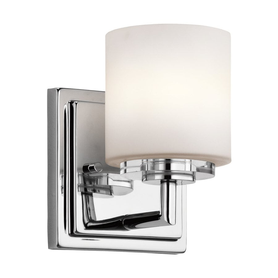 Kichler O Hara 1-Light 6.5-in Chrome Cylinder Vanity Light